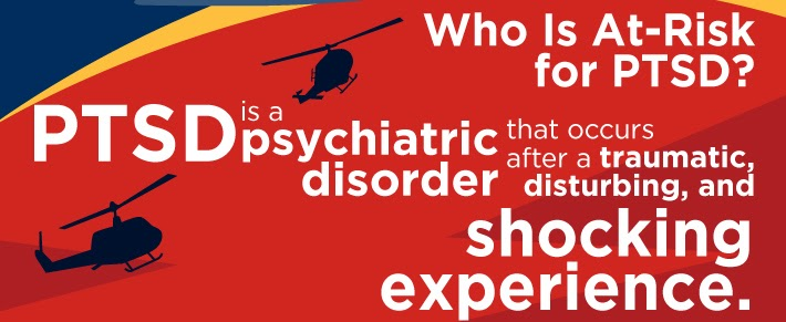 Who is at risk of PTSD?
