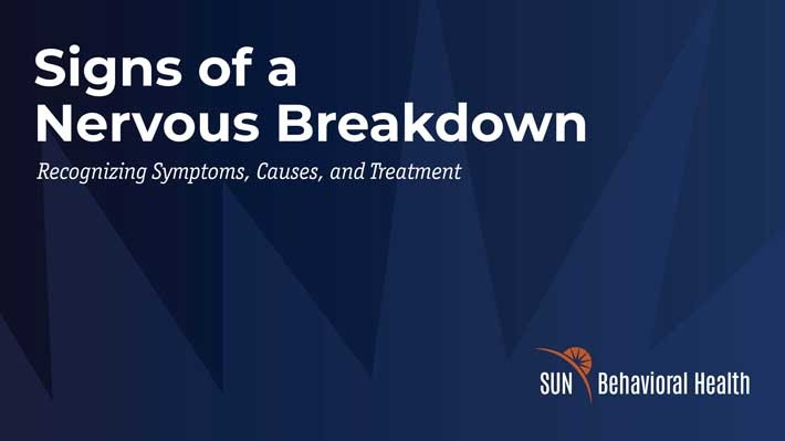 Signs of a Nervous Breakdown